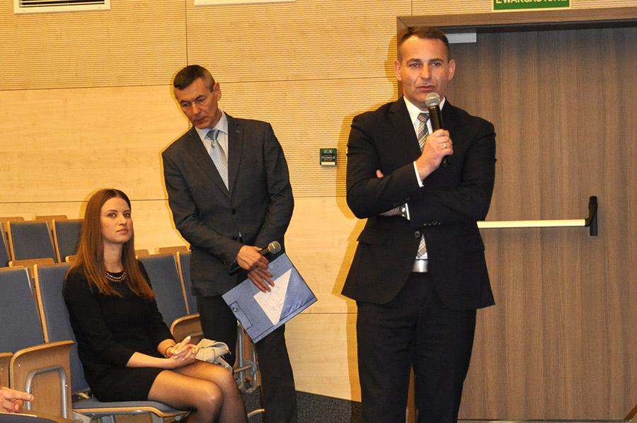 Przemowa Dyrektora Wojewódzkiego Urzędu Pracy w Kielcach Arkadiusza Piecyka