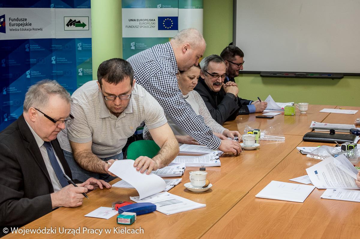 Spotkanie Dyrektorów Powiatowych Urzędów Pracy w ramach zawarcia umów na tegoroczne projekty unijne